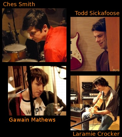 Ches Smith, Todd Sickafoose, Gawain Mathews, Laramie Crocker, Redemption Sessions