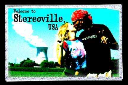 Welcome to Stereoville, USA. Laramie Crocker
